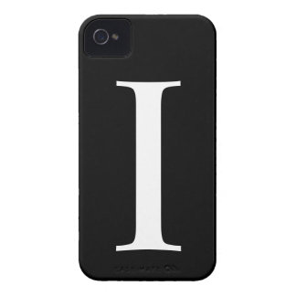 Initial I iPhone 4/4S Barely There Case iPhone 4 Cases