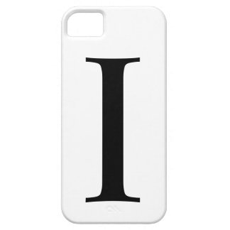 Initial I iPhone 5 Barely There Case iPhone 5 Covers