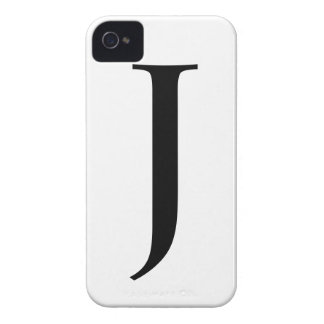 Initial J iPhone 4/4S Barely There Case iPhone 4 Case