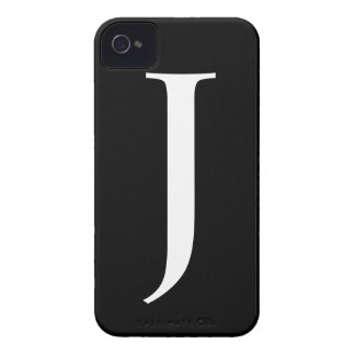 Initial J iPhone 4/4S Barely There Case Case-Mate iPhone 4 Case