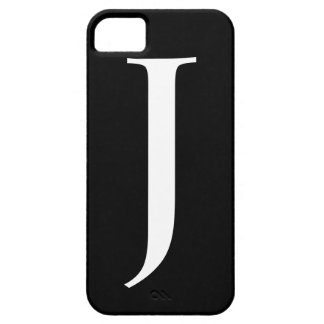 Initial J iPhone 5 Barely There Case iPhone 5 Case