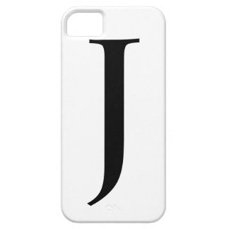 Initial J iPhone 5 Cases