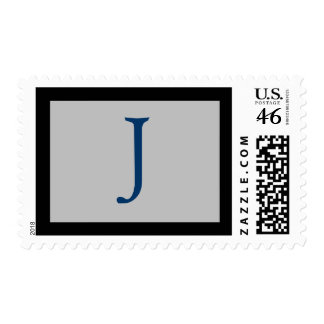 INITIAL J POSTAGE STAMPS