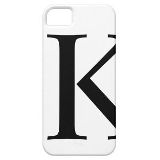 Initial K iPhone 5 Barely There Case iPhone 5 Cover