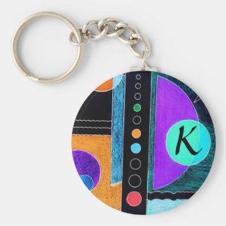 """Initial """"K"""" Keychain"""