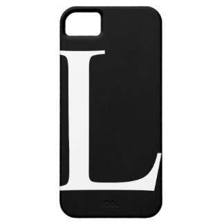 Initial L iPhone 5 Barely There Case iPhone 5 Covers