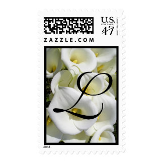 Initial L  with lillys Postage