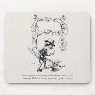 Initial Letter Mouse Pads
