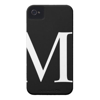Initial M iPhone 4/4S Barely There Case iPhone 4 Case-Mate Cases