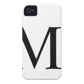 Initial M iPhone 4/4S Barely There Case iPhone 4 Covers