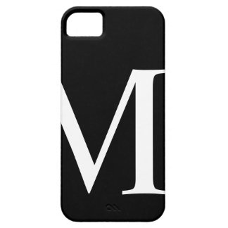 Initial M iPhone 5 Barely There Case iPhone 5 Cover