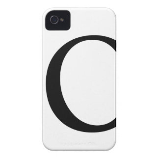 Initial O iPhone 4/4S Barely There Case Case-Mate iPhone 4 Cases