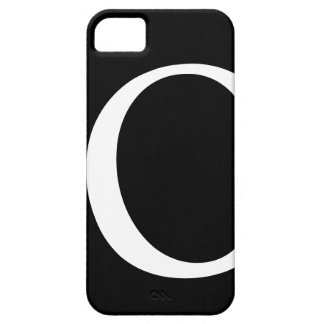 Initial O iPhone 5 Barely There Case iPhone 5 Cover