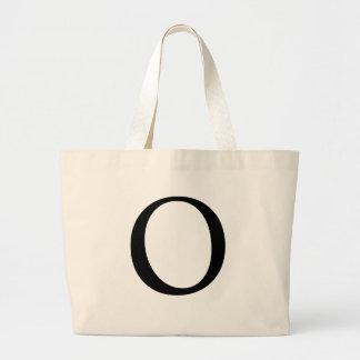 Initial O Jumbo Tote Bag