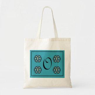 """Initial """"O"""" tote Bags"""