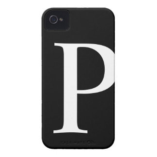 Initial P iPhone 4/4S Barely There Case iPhone 4 Case-Mate Cases