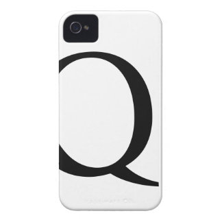 Initial Q iPhone 4/4S Barely There Case iPhone 4 Case