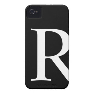 Initial R iPhone 4/4S Barely There Case iPhone 4 Case-Mate Case