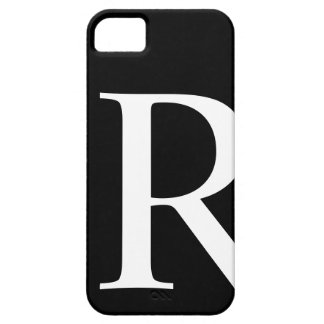 Initial R iPhone 5 Barely There Case