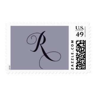 Initial - R Postage