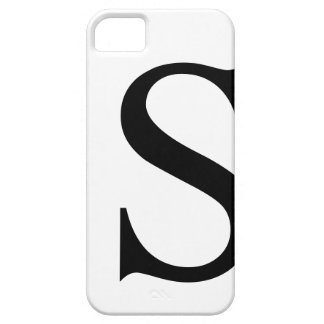Initial S iPhone 5 Barely There Case iPhone 5 Covers