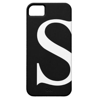 Initial S iPhone 5 Barely There Case