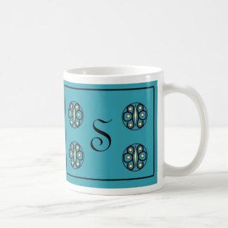 """Initial """"S"""" Mug"""