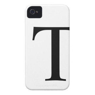 Initial T iPhone 4/4S Barely There Case iPhone 4 Case-Mate Cases