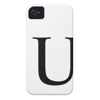 Initial U iPhone 4/4S Barely There Case Case-Mate iPhone 4 Case