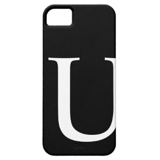 Initial U iPhone 5 Barely There Case iPhone 5 Case
