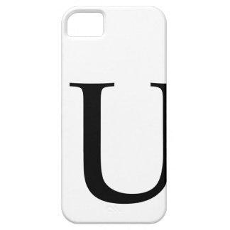 Initial U iPhone 5 Covers