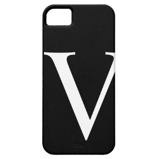Initial V iPhone 5 Barely There Case iPhone 5 Covers