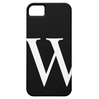 Initial W iPhone 5 Cover