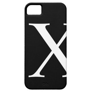 Initial X iPhone 5 Barely There Case iPhone 5 Case