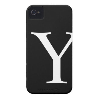 Initial Y iPhone 4/4S Barely There Case iPhone 4 Case-Mate Cases