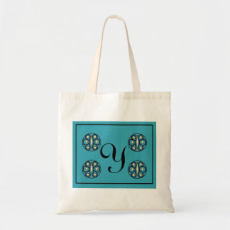 """Initial  """"Y"""" tote Canvas Bags"""