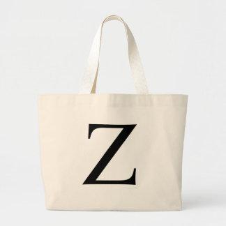 Initial Z Jumbo Tote Bag