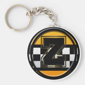 Initial Z taxi driver Keychain