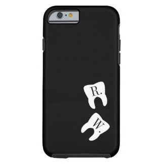 Initialed Teeth Dentistry Symbol Custom Tough iPhone 6 Case