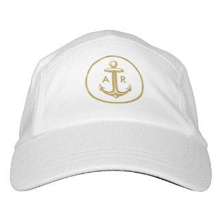 Initials | Graphic Golden Anchor Hat