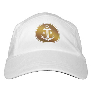 Initials | Graphic Golden Anchor Headsweats Hat