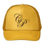 Initials (Script) Hats