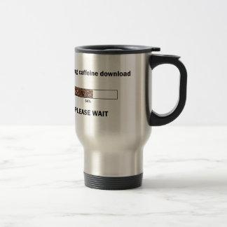 Initiating Caffeine Download 15 Oz Stainless Steel Travel Mug