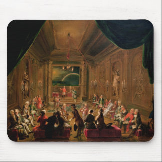 Initiation ceremony in a Viennese Masonic Mouse Pad