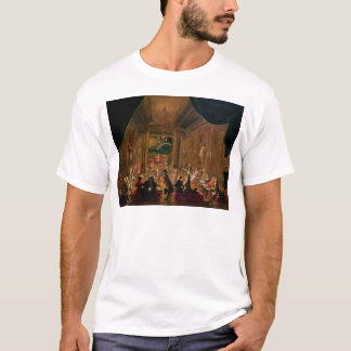 Initiation ceremony in a Viennese Masonic T-Shirt