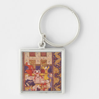 Initiation dance, from a book of poems keychain