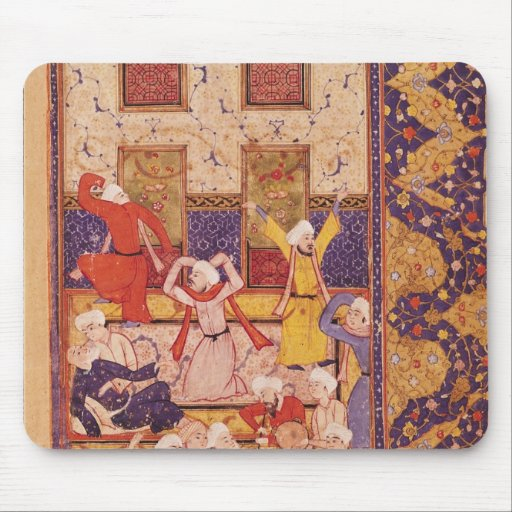 Initiation dance, from a book of poems mouse pad