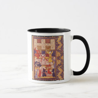 Initiation dance, from a book of poems mug