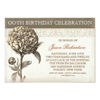 inivtations de la celebración del cumpleaños del invitacion personal