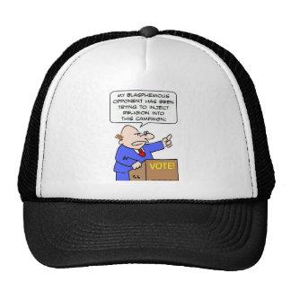 inject religion blasphemous vote campaign trucker hat